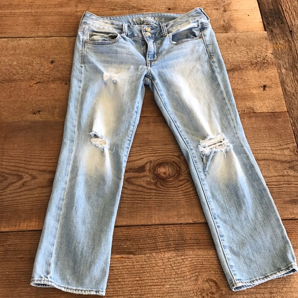 American Eagle Outfitters Denim - American Eagle Outfitters Artist Crop